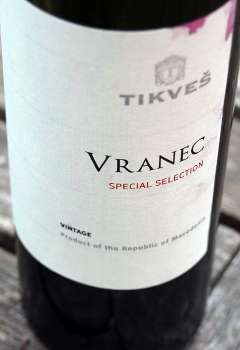 Tikves Winery - Vranec Special Selection